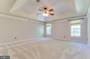 Gracious Primary BR suite w/ lighted tray ceiling! - 12113 SAWHILL BLVD, SPOTSYLVANIA