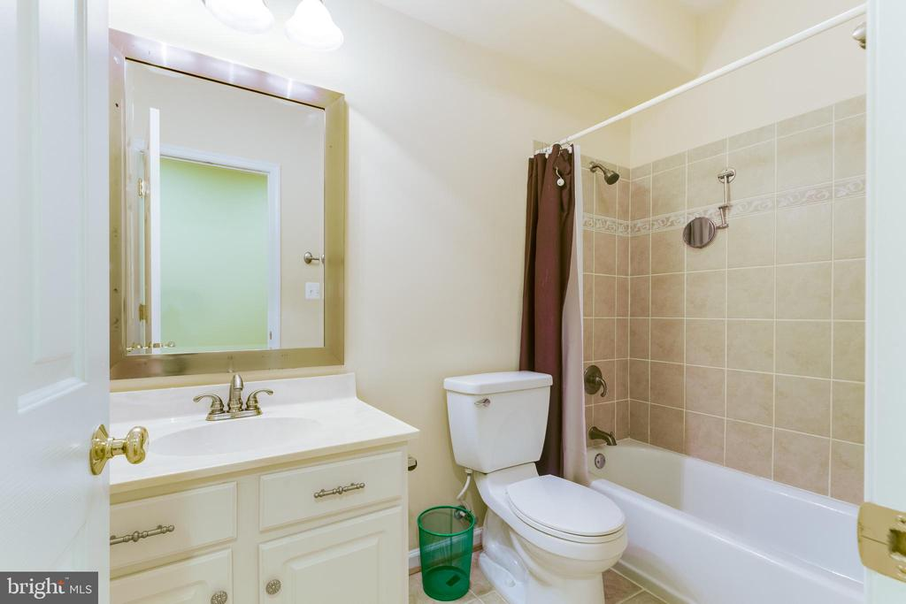 Lower Level Full Bath. - 12113 SAWHILL BLVD, SPOTSYLVANIA