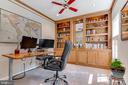 1st Floor office with built-ins - 19909 HAMIL CIR, MONTGOMERY VILLAGE