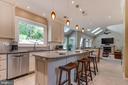 Remodeled kitchen - 19909 HAMIL CIR, MONTGOMERY VILLAGE