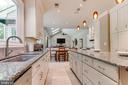 Kitchen with granite counters - 19909 HAMIL CIR, MONTGOMERY VILLAGE