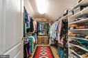 Walk- in Closet - 19909 HAMIL CIR, MONTGOMERY VILLAGE