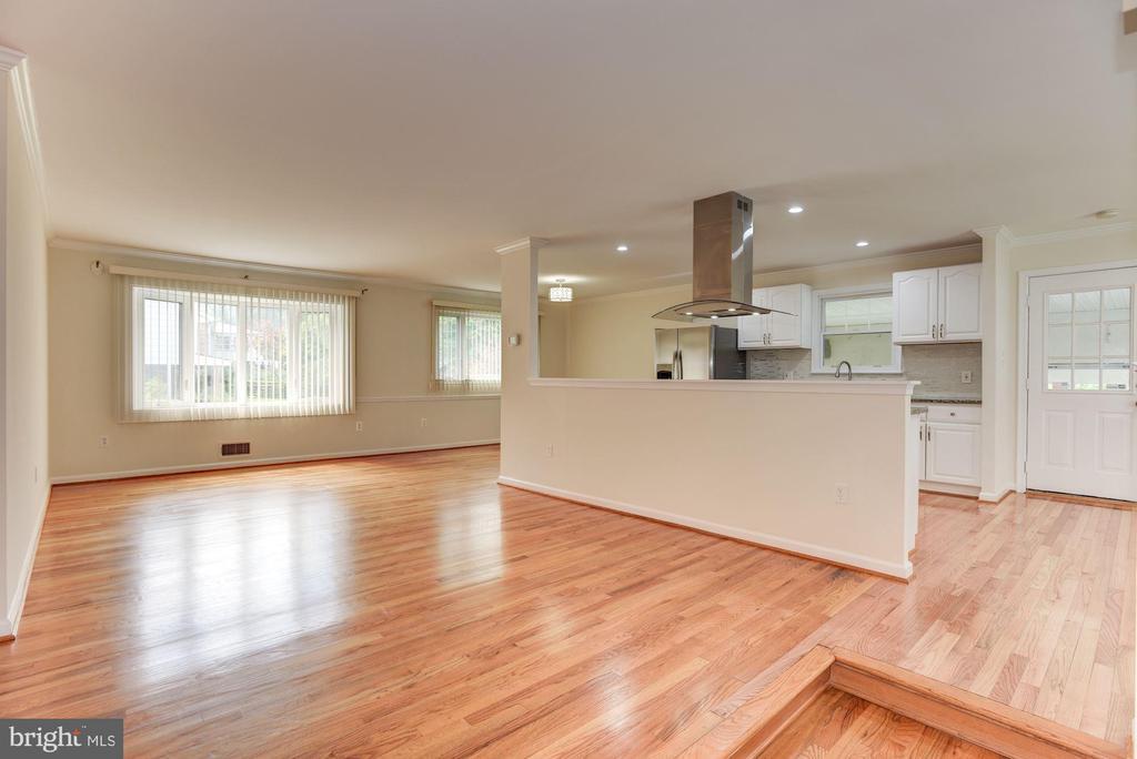 Living Room - 13300 COLLINGWOOD TER, SILVER SPRING