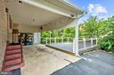 Carport and Deck - 13300 COLLINGWOOD TER, SILVER SPRING