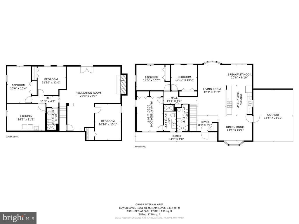 Floor Plan - 13300 COLLINGWOOD TER, SILVER SPRING