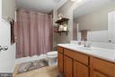 Full bath in basement - 97 SANCTUARY LN, STAFFORD
