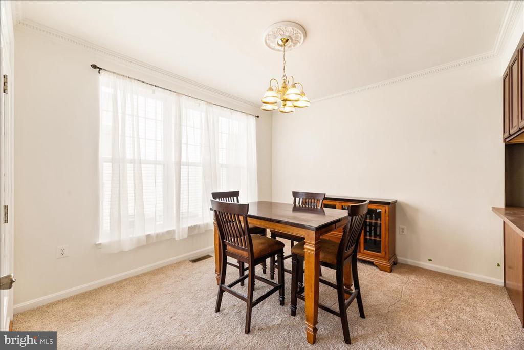 Dining Room - 17510 LETHRIDGE CIR, ROUND HILL
