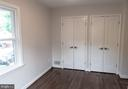 Recently expanded closets in the master bedroom. - 1220 S BUCHANAN ST, ARLINGTON