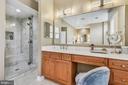 Primary Bathroom - 18252 SHINNIECOCK HILLS PL, LEESBURG