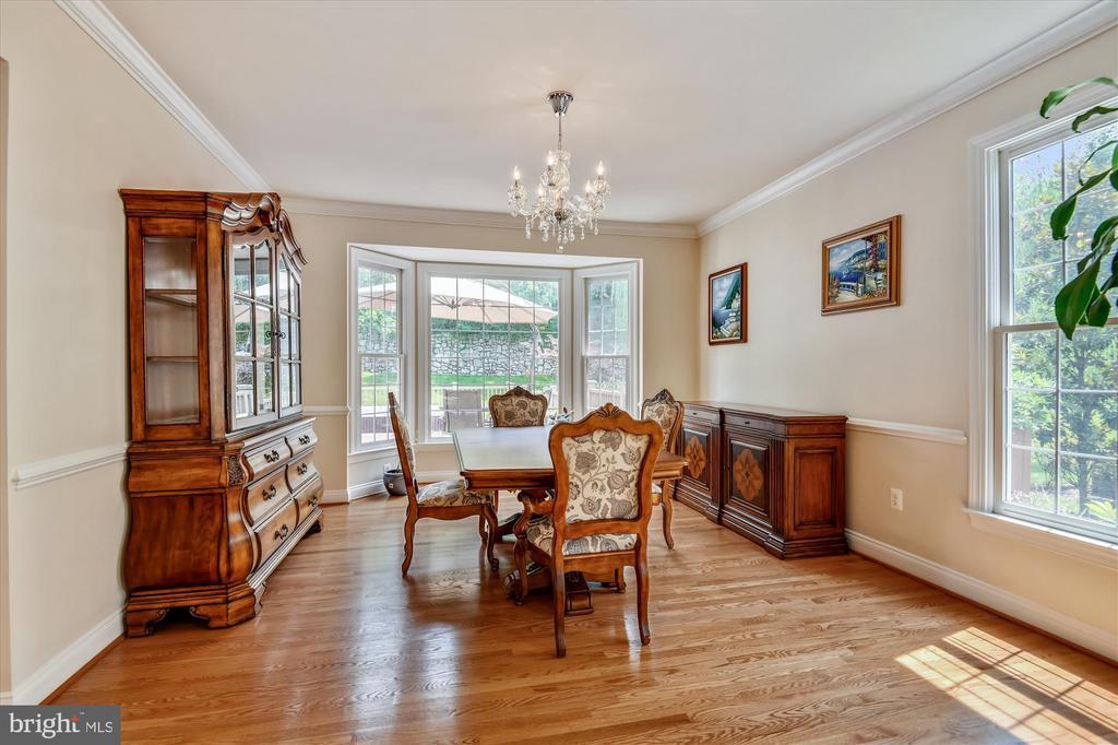 Large Formal Dining Room - 8043 WINSTEAD MANOR LN, LORTON