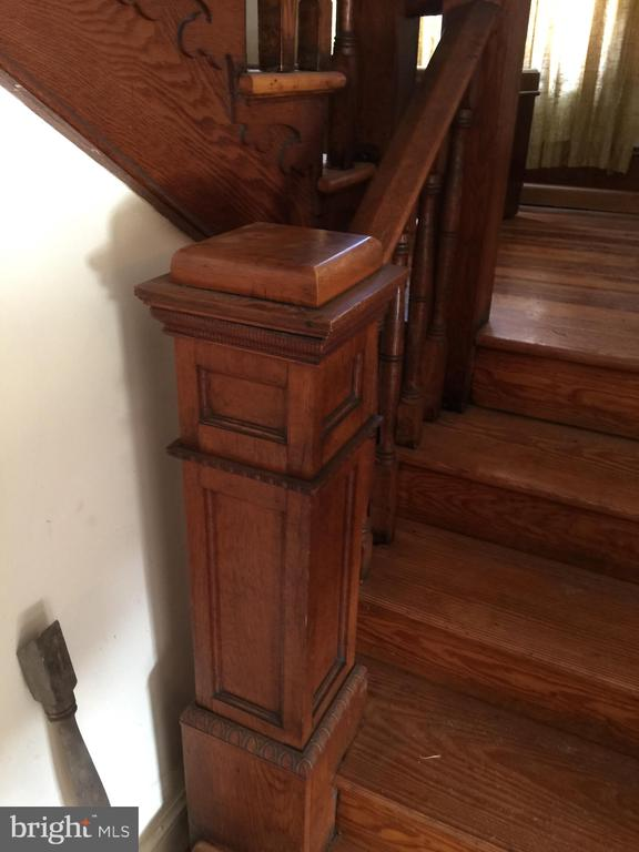 Stair detail - 898 FILLMORE ST, HARPERS FERRY