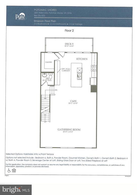 Floor 2 - 2060 ALDER LN, DUMFRIES