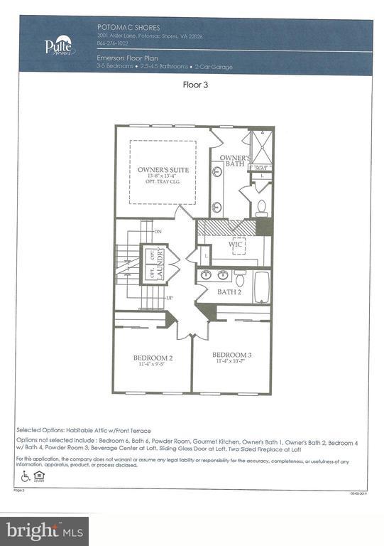 Floor 3 - 2060 ALDER LN, DUMFRIES