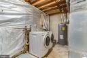Brand new hot water heater (2021) - 3594 WHARF LN, TRIANGLE