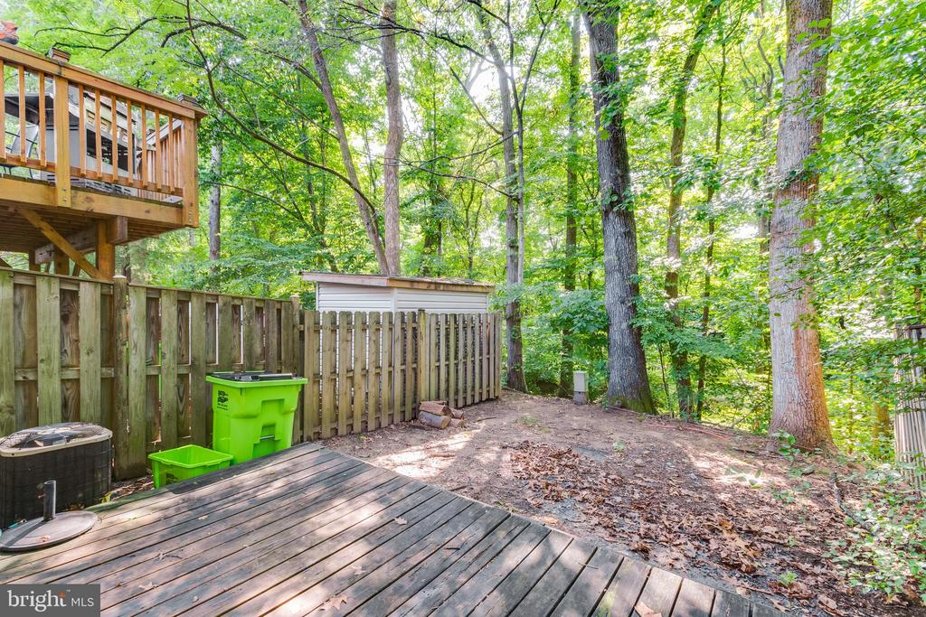 Backs to mature trees for privacy - 3594 WHARF LN, TRIANGLE
