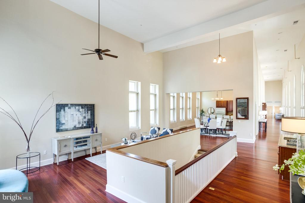 Living Room with 25' high ceilings! - 2829 SACKS ST #MH201, SILVER SPRING