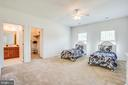 All bedrooms have attached baths and w/i closets! - 57 SNAPDRAGON DR, STAFFORD