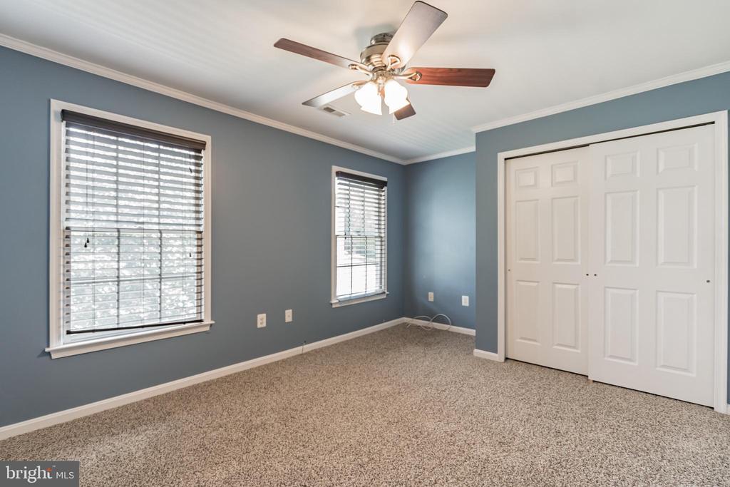 Ceiling fan in bedroom - 135 BRUSH EVERARD CT, STAFFORD