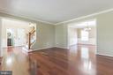 Spacious living room - 135 BRUSH EVERARD CT, STAFFORD