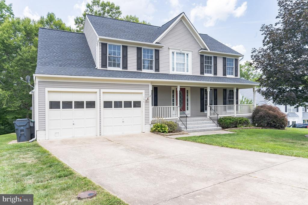 Located at the end of a cul de sac - 135 BRUSH EVERARD CT, STAFFORD