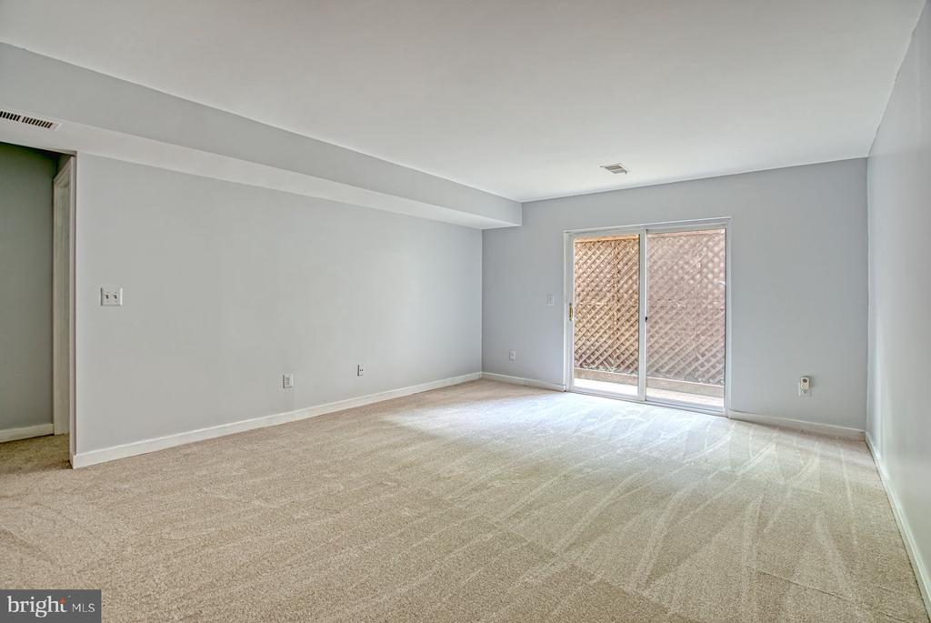 Lower Level Rec Room walks out to back - 2211 CEDAR COVE CT, RESTON