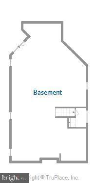 Lower level floor plan - 17451 LETHRIDGE CIR, ROUND HILL