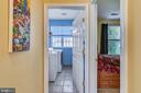 Upper level laundry - 17451 LETHRIDGE CIR, ROUND HILL