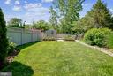 rear yard with shed and gardening beds - 12704 CHAPEL RD, CLIFTON