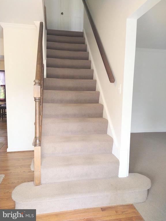 Stairs to 2nd Floor - 13600 BRIDGELAND LN, CLIFTON
