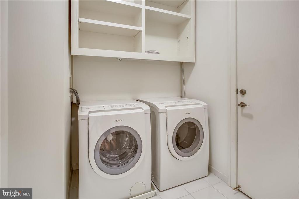 Laundry, storage, & utility room - 1177 22ND ST NW #4M, WASHINGTON