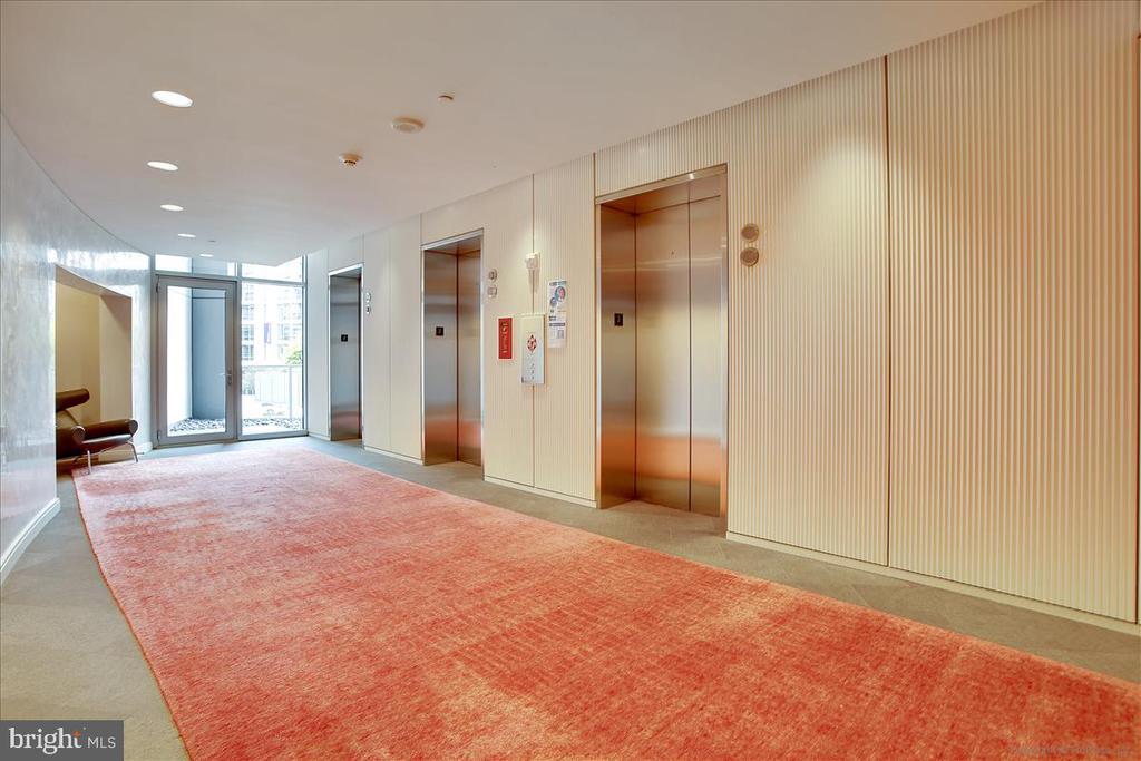 Fourth floor elevators - 1177 22ND ST NW #4M, WASHINGTON
