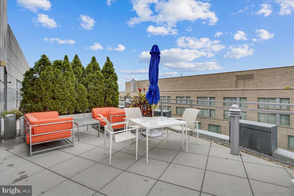 Rooftop dining terrace - 1177 22ND ST NW #4M, WASHINGTON