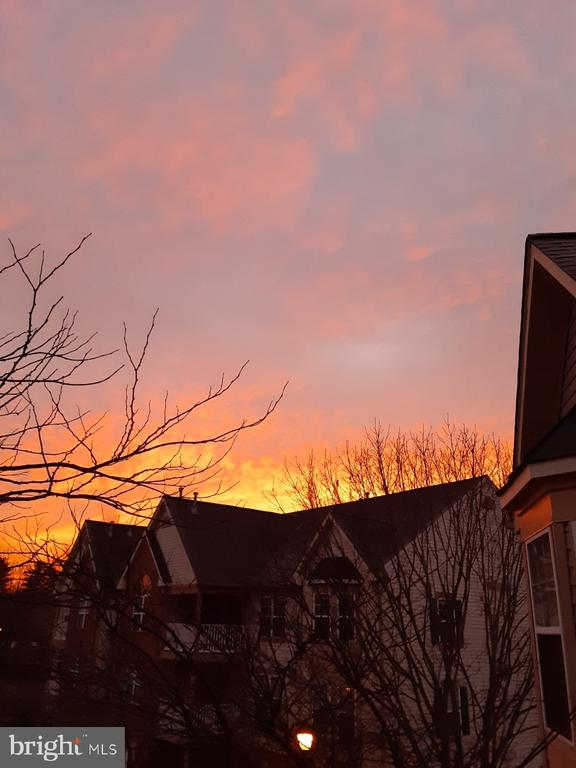 Sunrise on your balcony with morning coffee! - 6505 SPRINGWATER CT #7401, FREDERICK