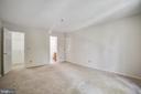Primary bedroom has its own en suite - 12236 LADYMEADE CT #5-201, WOODBRIDGE
