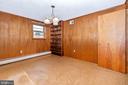 Entrance level office, den, or potential bedroom - 703 WYNGATE DR, FREDERICK