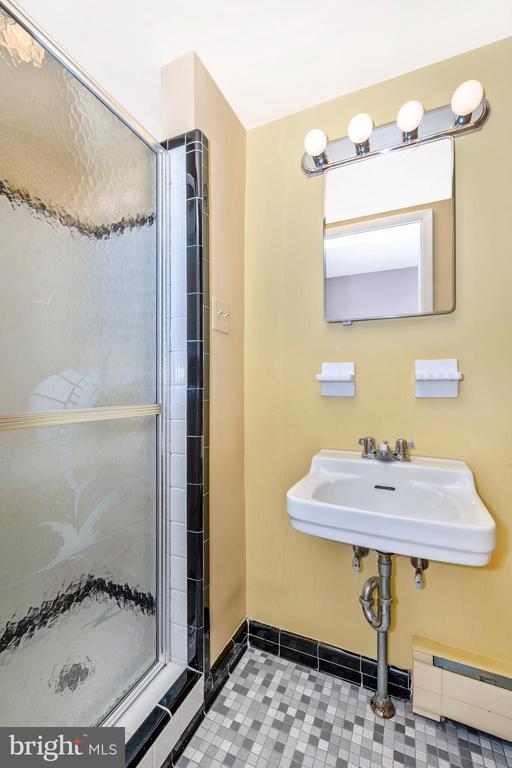 Entrance level full bath - 703 WYNGATE DR, FREDERICK