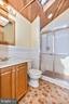 Hall bath features a skylight - 703 WYNGATE DR, FREDERICK