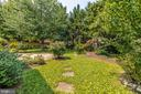Plenty of privacy in the back yard - 703 WYNGATE DR, FREDERICK