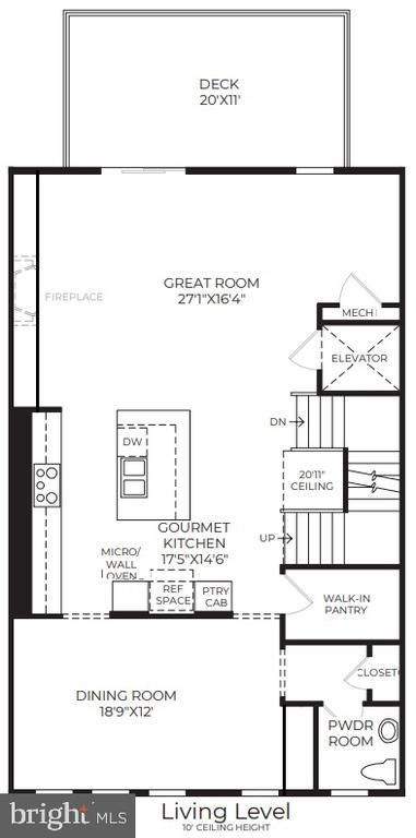 Living Room - 43879 HANES HALL TER, ASHBURN