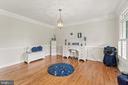 Brazilian Cherry Sand and Finish Hardwood floors - 55 AZTEC DR, STAFFORD