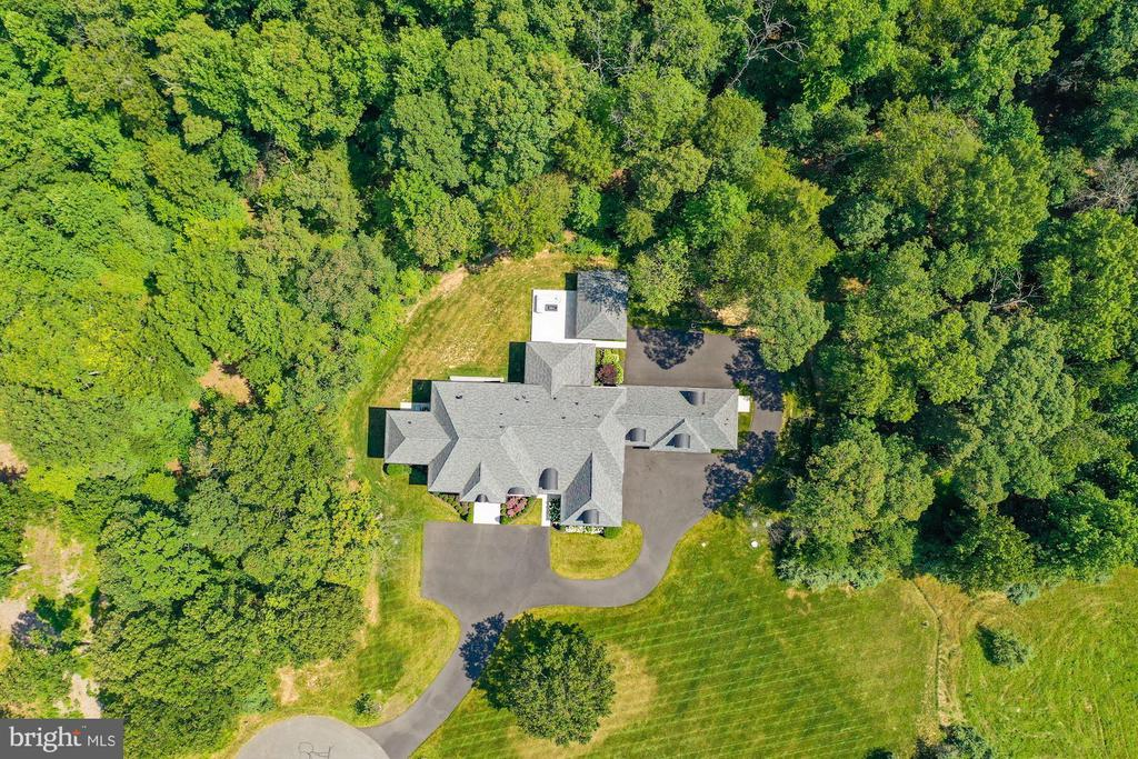 Bird's Eye View of this Extraordinary Home - 22436 MADISON HILL PL, LEESBURG