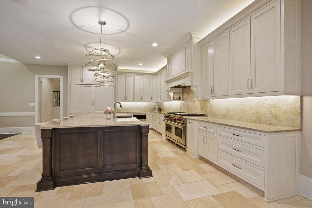 Gourmet Entertaining and Chef's Kitchen - 22436 MADISON HILL PL, LEESBURG