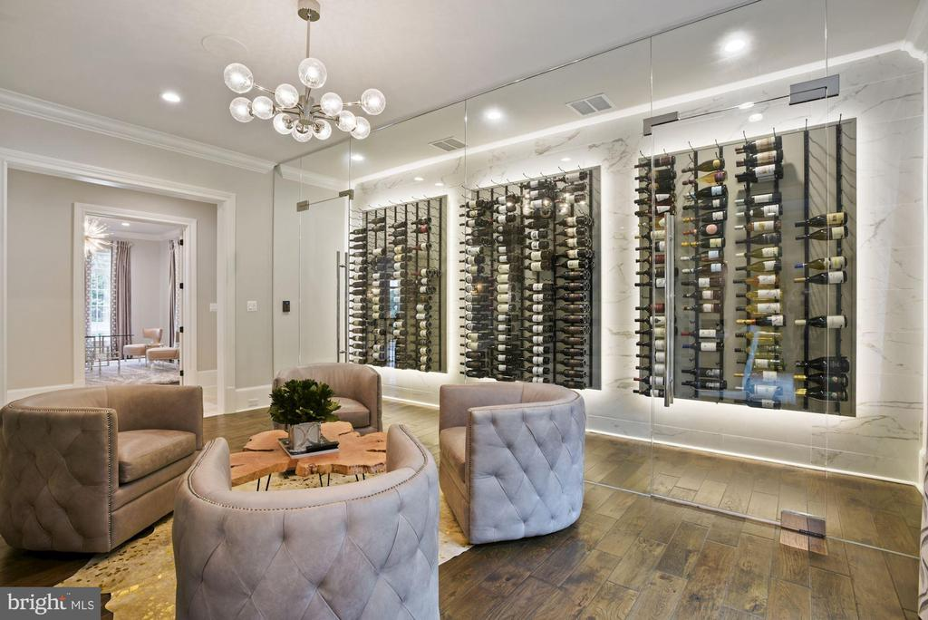 750 Bottle Temperature Controlled Wine Cellar - 22436 MADISON HILL PL, LEESBURG