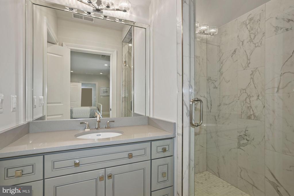 Au-Pair/In-Law En Suite Bathroom - 22436 MADISON HILL PL, LEESBURG