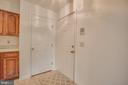 Before you leave, check out the large coat closet - 12236 LADYMEADE CT #5-201, WOODBRIDGE