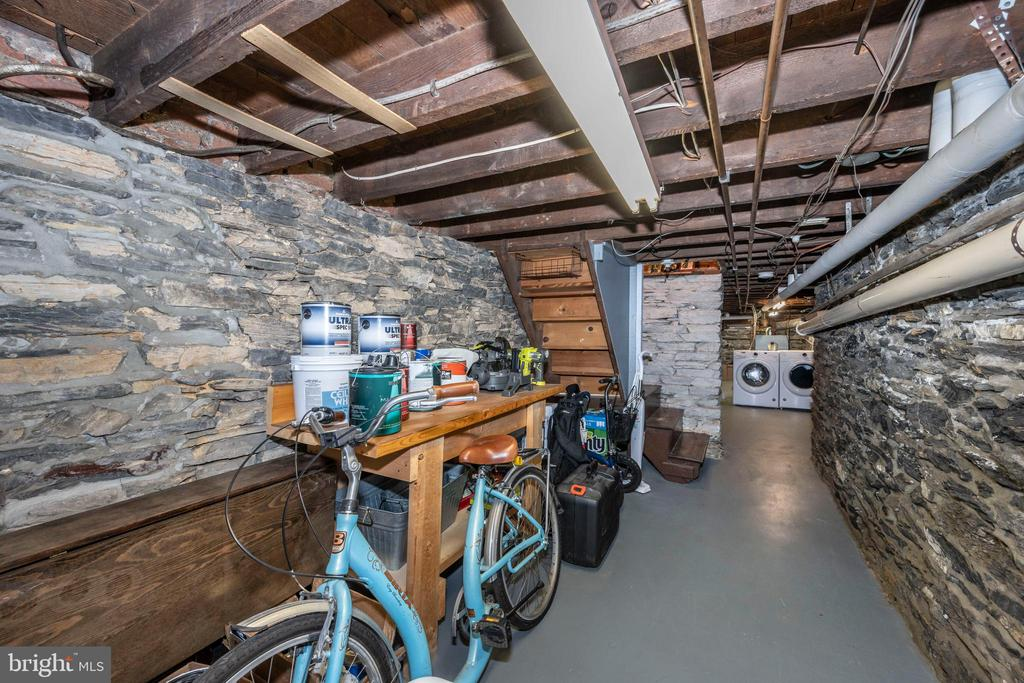 Cellar Concrete floors and  all well maintained - 212 E 3RD ST, FREDERICK