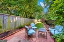 Secluded Brick Patio- perfect for entertaining - 212 E 3RD ST, FREDERICK