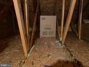 Pull Down Stairs to Floored Attic - 7960 CALVARY CT #138, MANASSAS