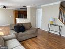 Living Room - New Vinyl Plank Flooring - 7960 CALVARY CT #138, MANASSAS