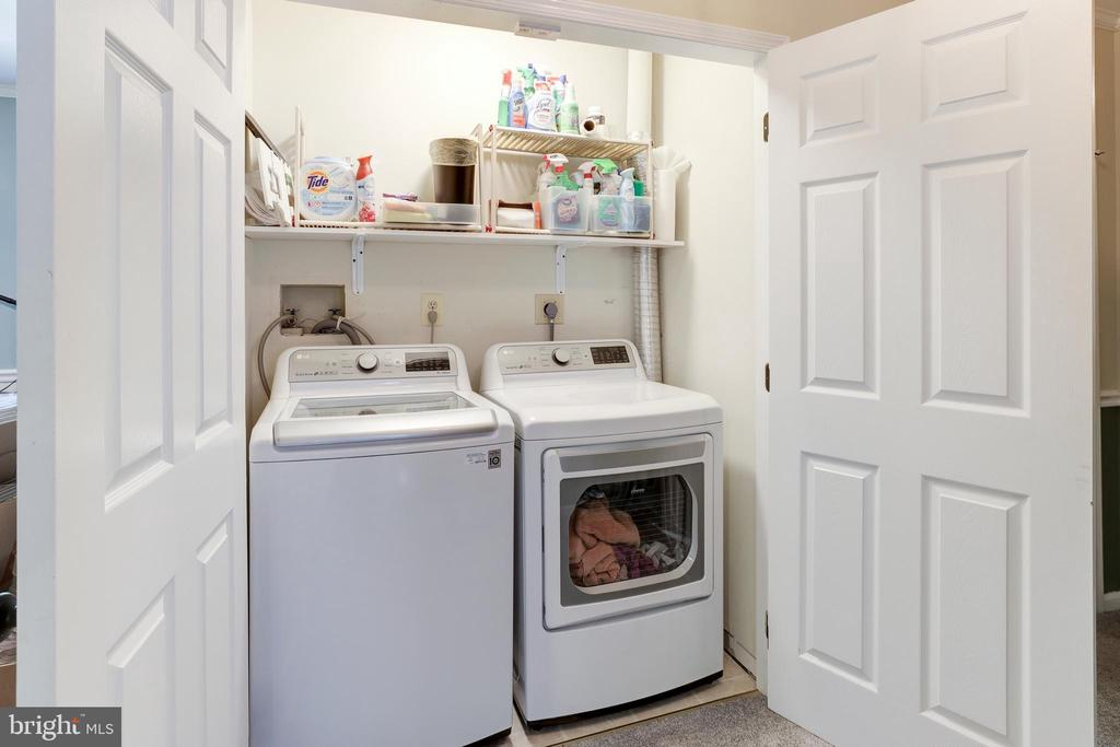 Upstairs Energy Efficient Laundry - 8104 FLOSSIE LN, CLIFTON